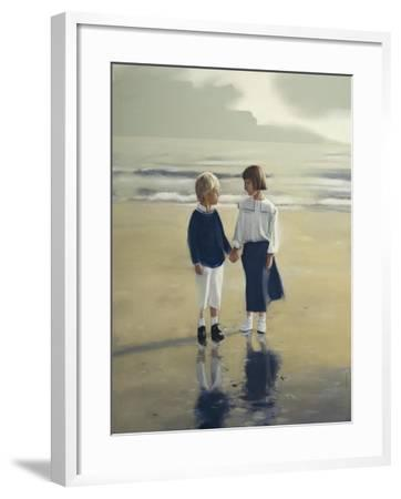 Sunday-Mark Van Crombrugge-Framed Art Print