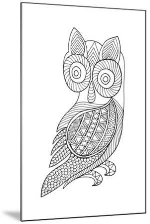 Bird Baby Owl-Neeti Goswami-Mounted Art Print