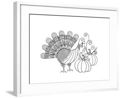 Thanksgiving Turkey-Neeti Goswami-Framed Art Print
