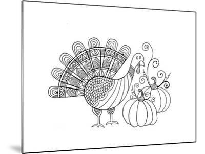 Thanksgiving Turkey-Neeti Goswami-Mounted Art Print