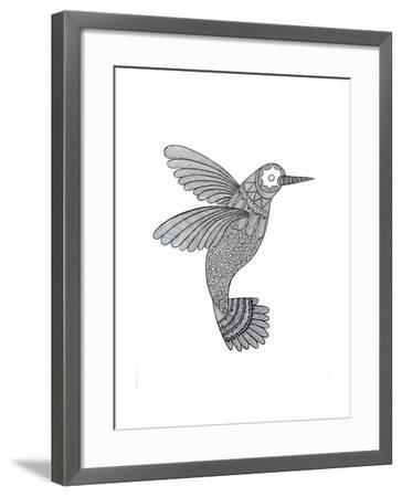 Bird Hummingbird-Neeti Goswami-Framed Art Print