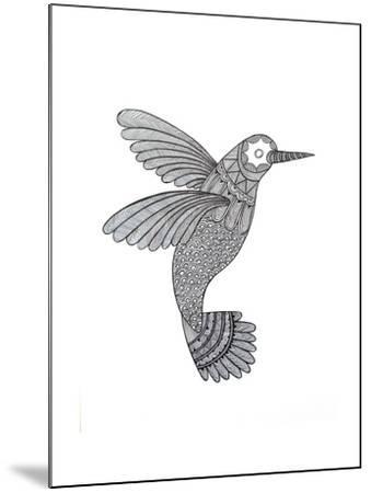 Bird Hummingbird-Neeti Goswami-Mounted Art Print