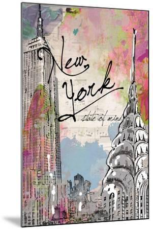 New York State of Mind-Jodi Pedri-Mounted Art Print