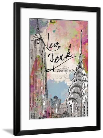 New York State of Mind-Jodi Pedri-Framed Art Print
