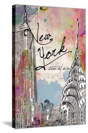 New York State of Mind-Jodi Pedri-Stretched Canvas Print