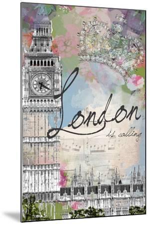 London Is Calling-Jodi Pedri-Mounted Art Print