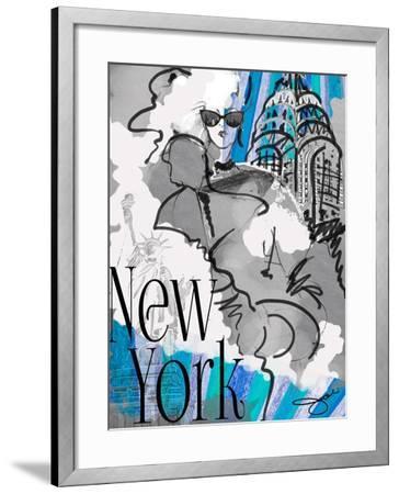 Made in Manhattan-Jodi Pedri-Framed Art Print