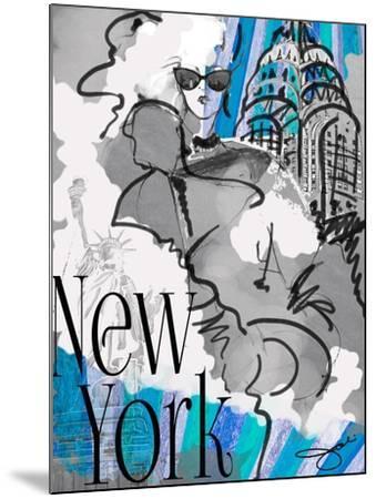 Made in Manhattan-Jodi Pedri-Mounted Art Print