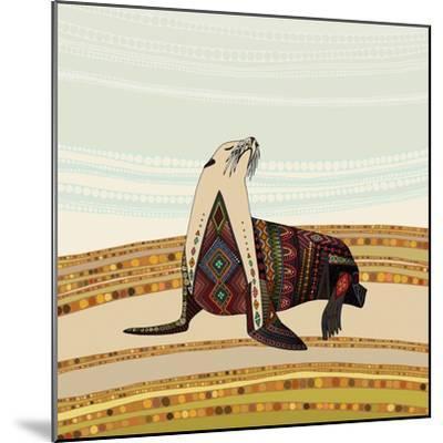Sea Lion-Sharon Turner-Mounted Art Print