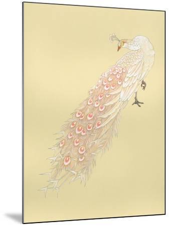 White Peacock-Haruyo Morita-Mounted Art Print