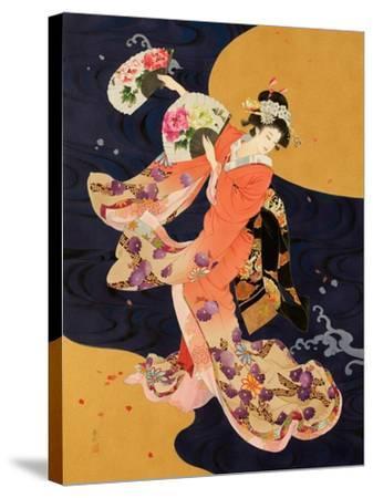 Futatsu Ogi-Haruyo Morita-Stretched Canvas Print