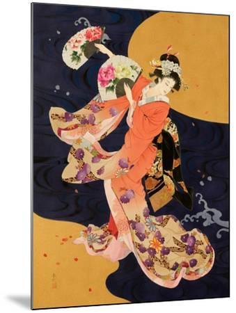 Futatsu Ogi-Haruyo Morita-Mounted Art Print