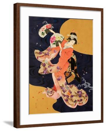 Futatsu Ogi-Haruyo Morita-Framed Art Print