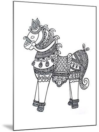 Animal Horse4-Neeti Goswami-Mounted Art Print