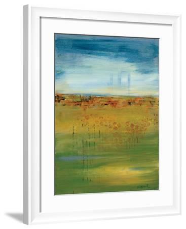 Earth:Sky-Nikki Dilbeck-Framed Art Print