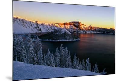 Crater Lake II-Ike Leahy-Mounted Photographic Print
