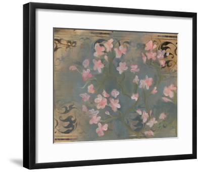 Cherry Blossoms II-Arielle Adkin-Framed Art Print