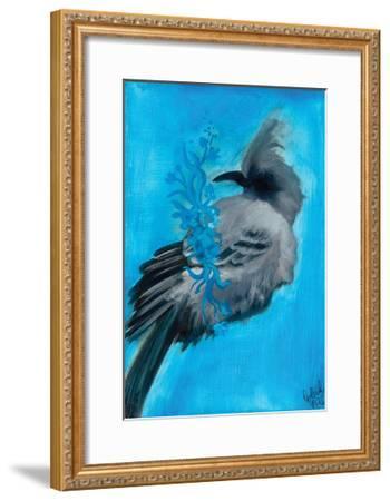 Bird Study IX-Arielle Adkin-Framed Art Print