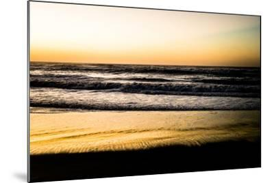 Ocean Sunrise V-Beth Wold-Mounted Photographic Print