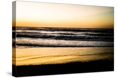 Ocean Sunrise V-Beth Wold-Stretched Canvas Print