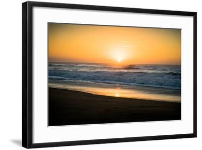 Ocean Sunrise II-Beth Wold-Framed Photographic Print