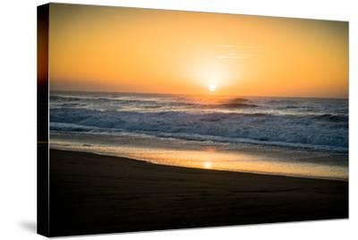 Ocean Sunrise II-Beth Wold-Stretched Canvas Print