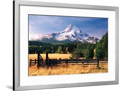 Mt. Hood X-Ike Leahy-Framed Photographic Print
