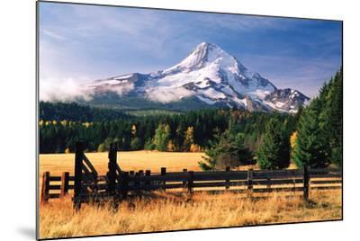 Mt. Hood X-Ike Leahy-Mounted Photographic Print
