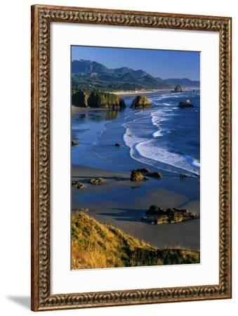 Ecola State Park II-Ike Leahy-Framed Photographic Print