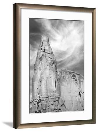 Navajo Skies BW-Douglas Taylor-Framed Photographic Print