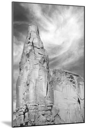 Navajo Skies BW-Douglas Taylor-Mounted Photographic Print