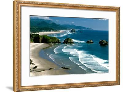 Ecola State Park III-Ike Leahy-Framed Photographic Print