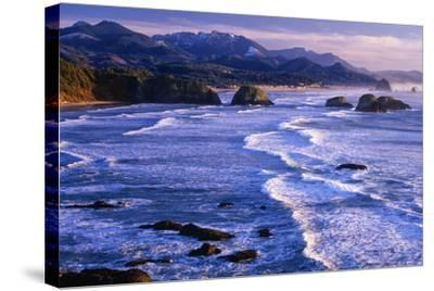 Ecola State Park IV-Ike Leahy-Stretched Canvas Print