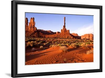 Monument Valley II-Ike Leahy-Framed Photographic Print