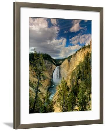 Yellowstone Falls-Ike Leahy-Framed Photographic Print