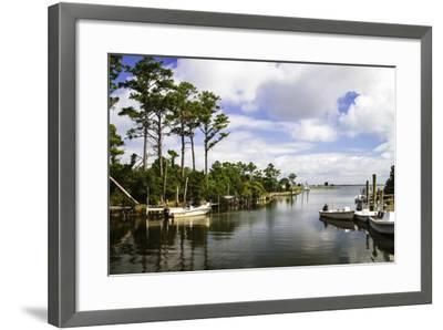 Small Harbor-Alan Hausenflock-Framed Photographic Print