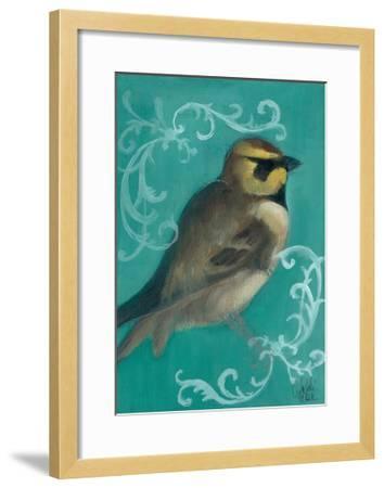 Bird Study V-Arielle Adkin-Framed Art Print