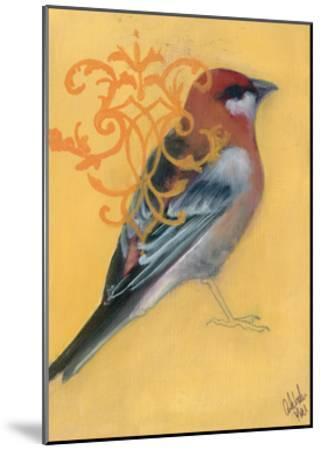 Bird Study I-Arielle Adkin-Mounted Art Print