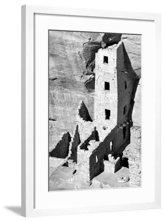Square Tower House BW-Douglas Taylor-Framed Photographic Print