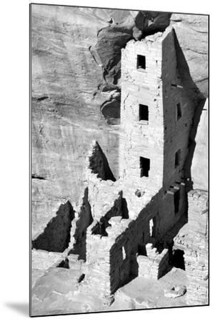 Square Tower House BW-Douglas Taylor-Mounted Photographic Print