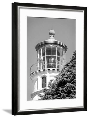 Umpqua River Lighthouse BW-Douglas Taylor-Framed Photographic Print