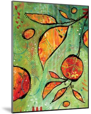 Orange is Happy-BJ Lantz-Mounted Art Print