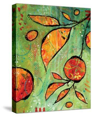 Orange is Happy-BJ Lantz-Stretched Canvas Print