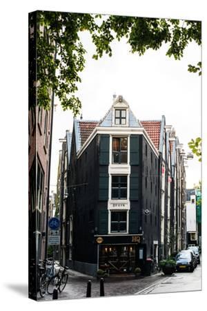 Amsterdam Koggestraat-Erin Berzel-Stretched Canvas Print