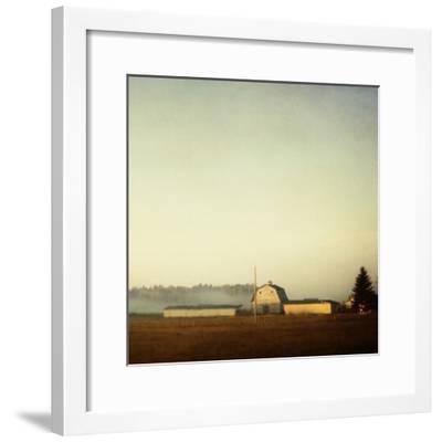 Sun on the Barn-Roberta Murray-Framed Photographic Print