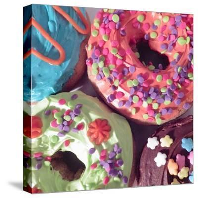 Doughnut Choices II-Monika Burkhart-Stretched Canvas Print