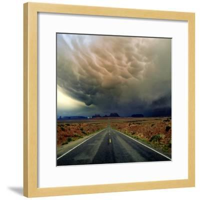 Monument Valley III-Ike Leahy-Framed Photographic Print
