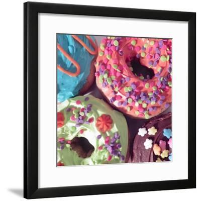 Doughnut Choices II-Monika Burkhart-Framed Photographic Print