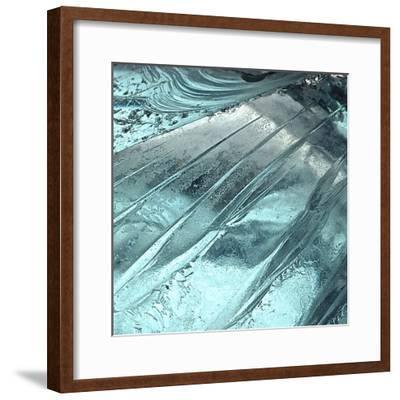 Blue Ice II-Monika Burkhart-Framed Photographic Print