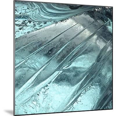 Blue Ice II-Monika Burkhart-Mounted Photographic Print